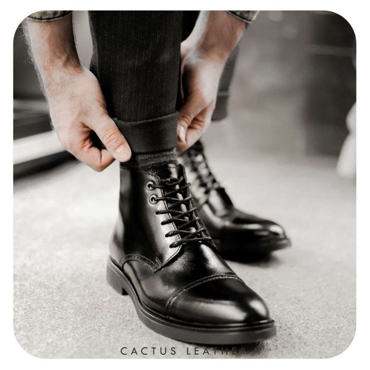 کفش چرم مردانه کاکتوس